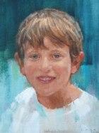 """Jason 9""""x12"""" oil on canvas"""